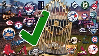 One Reason Why Your Favorite MLB Team COULD Win The 2019 World Series