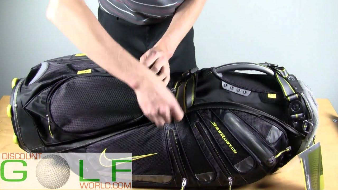 362340e7c4d9 Nike SasQuatch Tour Stand Bag Overview - YouTube