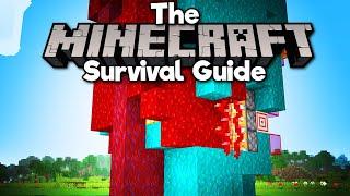 Warped & Crimson Tree Farm! ▫ The Minecraft Survival Guide (Tutorial Lets Play) [Part 335]