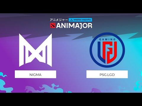Nigma vs PSG.LGD | Game 3 | WePlay - AniMajor