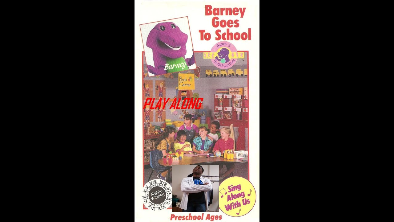 barney goes to school play along youtube