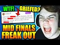Mongraal LOSES IT During FCS Finals.. FURIOUS At GRIEFING Team? WHAT HAPPENED?