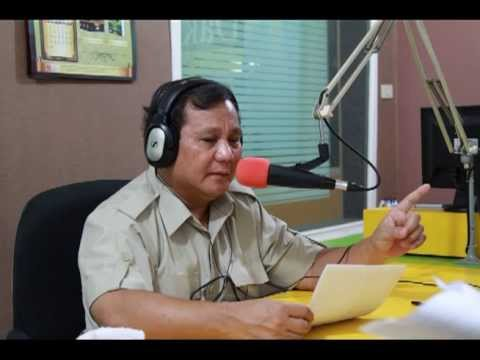 Dialog Radio Interaktif Prabowo Subianto  - 17 Juli 2013