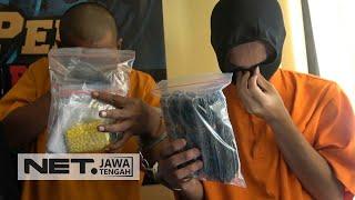 Akhirnya, Pengedar Narkoba Diamankan Polisi ! - NET JATENG