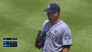 SD@ATL: Lane allows one run in first career start