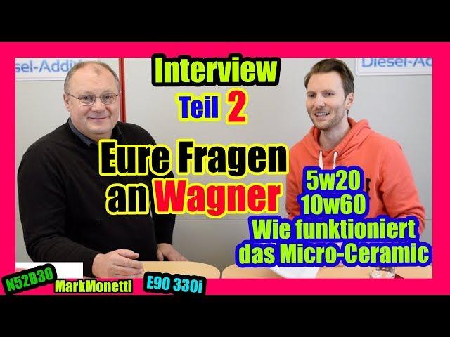 Eure Fragen Teil 2 | Micro-Ceramic + Wirkungsweise | 5w20 vs 10w60 | MarkMonetti