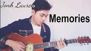 MEMORIES - Maroon 5 Fingerstyle Guitar Cover