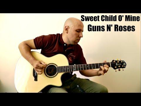 Sweet Child O' Mine – Guns N' Roses Fingerstyle Guitar