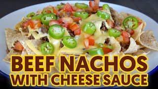 PATOK SA NEGOSYO Beef Nachos with Homemade Cheese Sauce | Perfect Appetizer and Good for Snacking