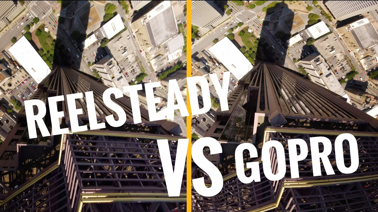 ReelSteady Vs Gopro - Building Dive - FPV Freestyle