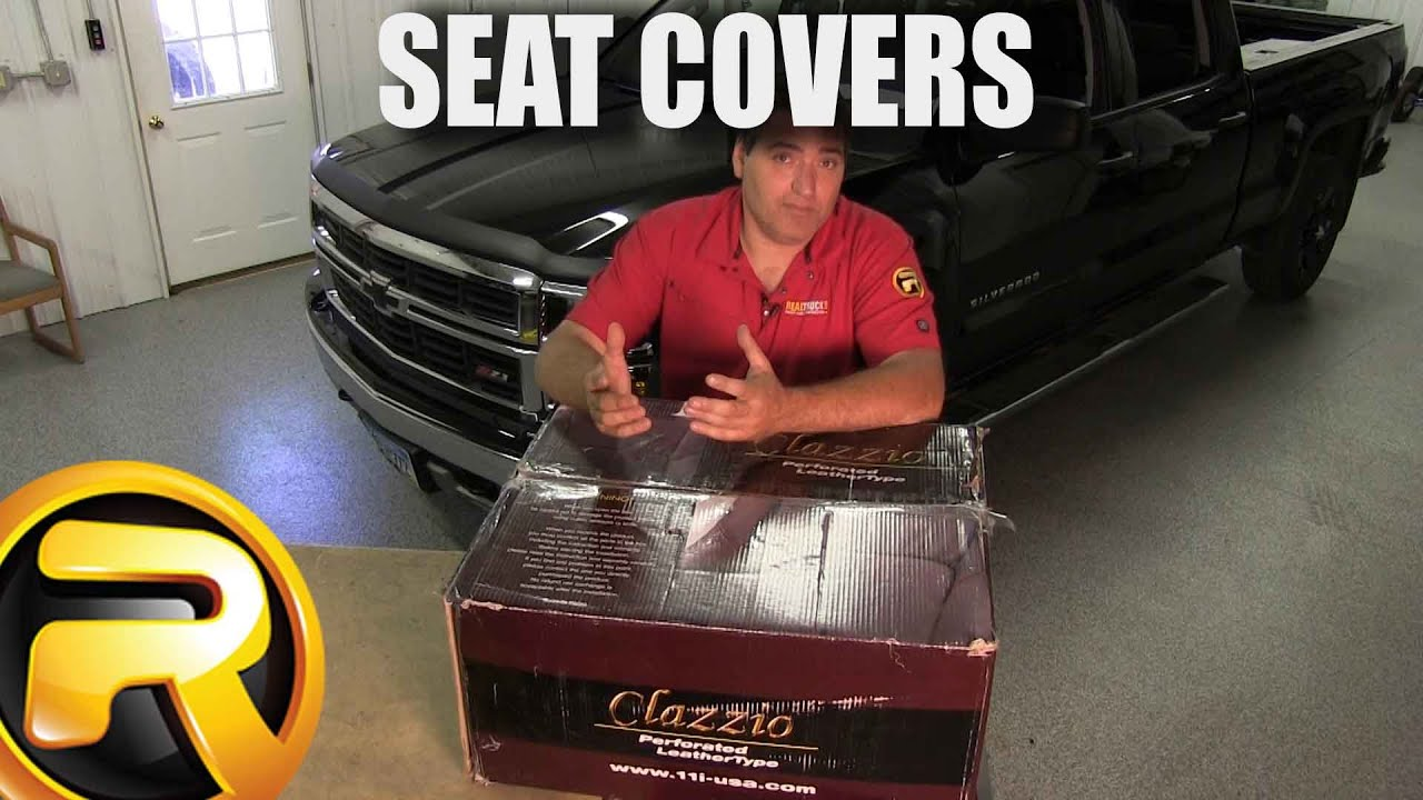 Charming How To Install Seat Covers On A Chevrolet Silverado