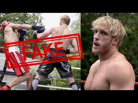 Logan Paul Boxing a Stranger *FAKE* thumbnail