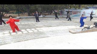 Цигун (8 отрезков парчи). Зарядка в Тайцзи. Китайская гимнастика. Тайцзицюань.