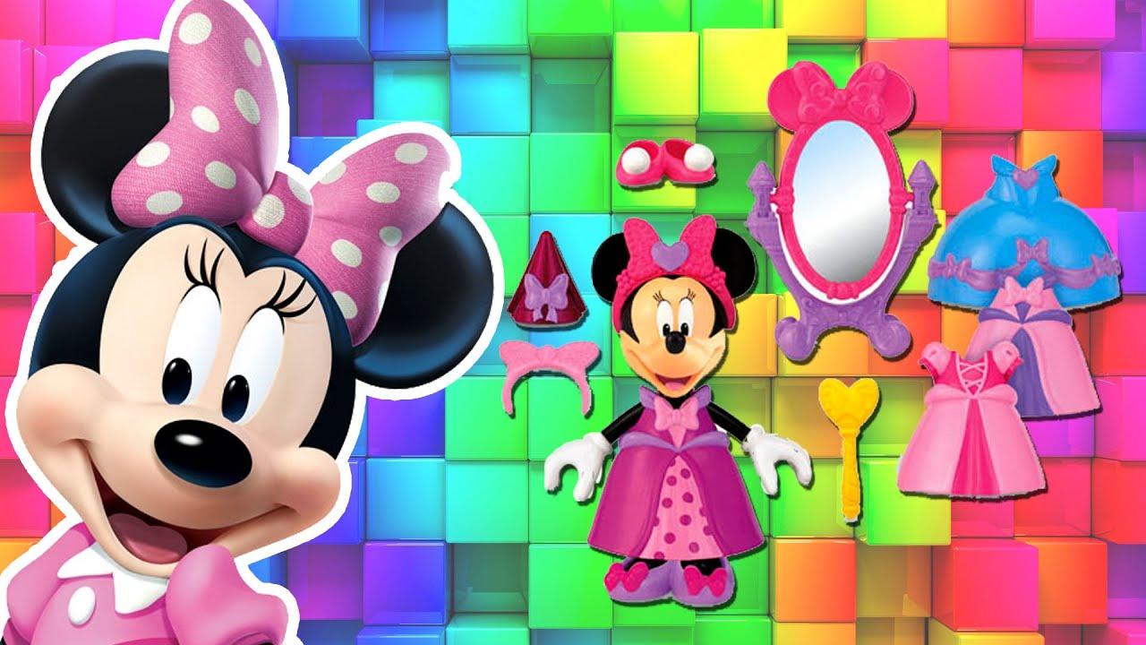 Minnie Mouse Vestidos De Princesa Disney Brinquedos Da Minnie Em