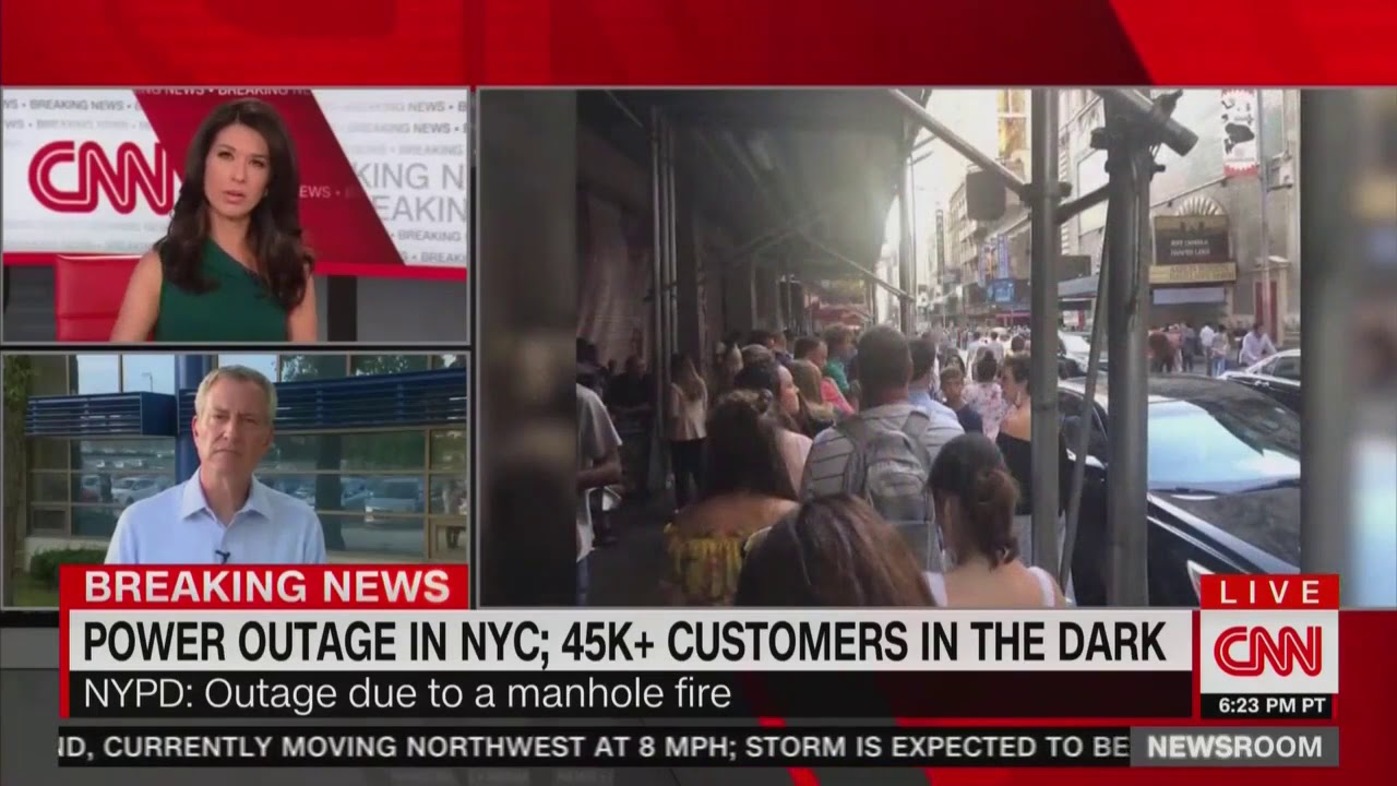 Massive power outage cripples New York City