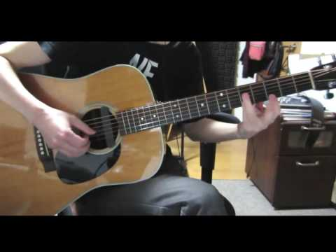 """""""ELM"""" acoustic guitar cover Backing Section -from COWBOY BEBOP-"""
