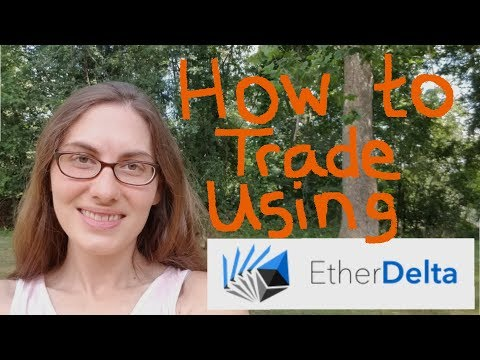 How to Trade on EtherDelta