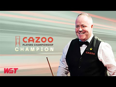 John Higgins Wins The Cazoo Players Championship!