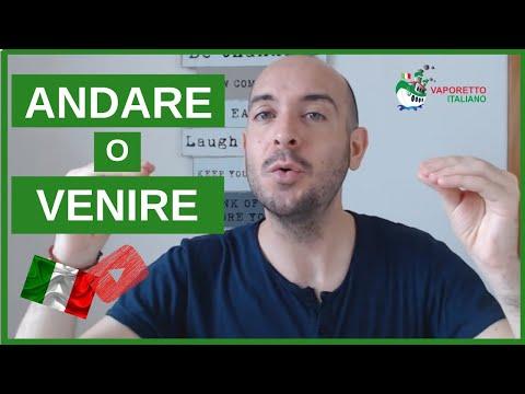 ANDARE e VENIRE | Learn Italian with Vaporetto Italiano (Italian and English subtitles)