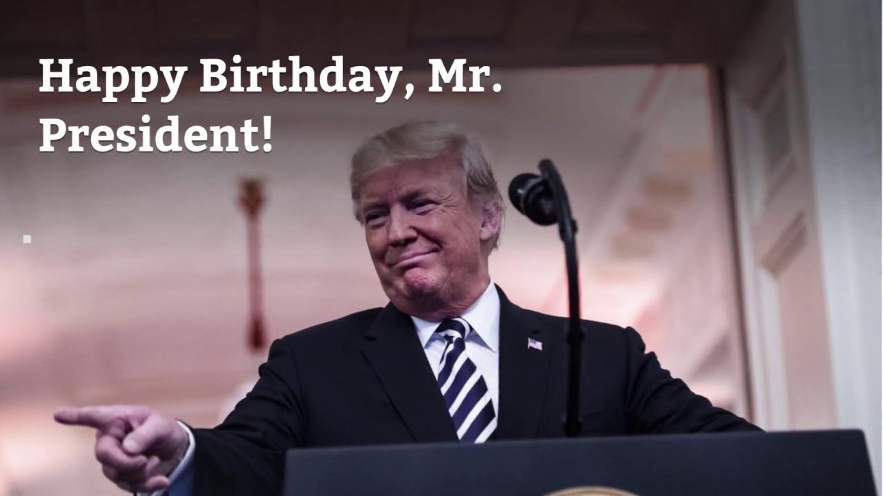 Happy Birthday, Mr. President