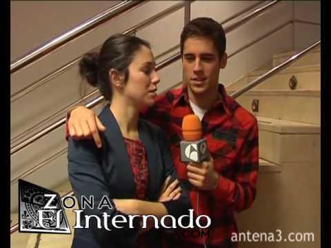 Martín Rivas y Blanca Suárez Sexta temporada de El Internado