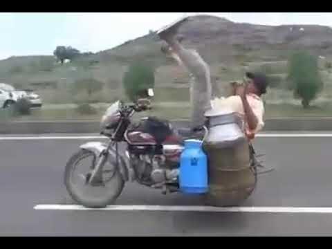 Amazing Talent of Bike Riding...Must watch..LOL