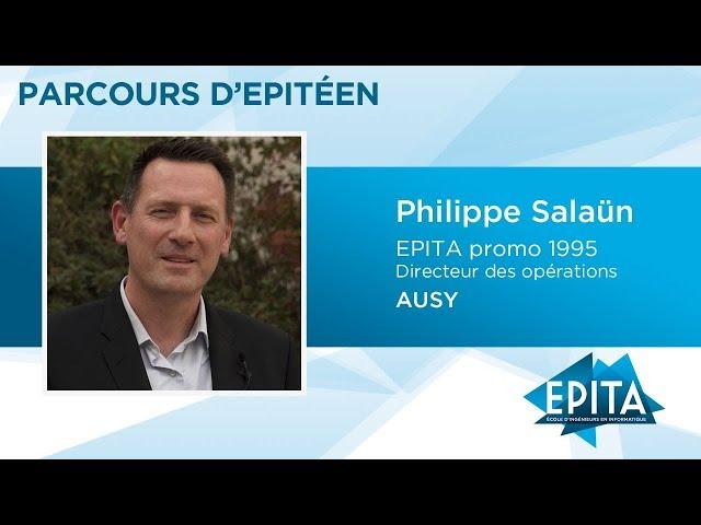 Parcours d'Epitéen - Philippe Salaün (promo 1995) - AUSY