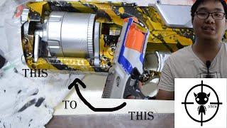 เนิร์ฟบ้าโม Nerf Strongarm Mod : Golden trouble