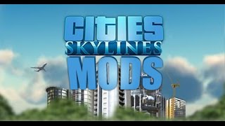 Cities: Skylines Mods 5 Shaders, Vitals and Huge Ass Satellite Dishes