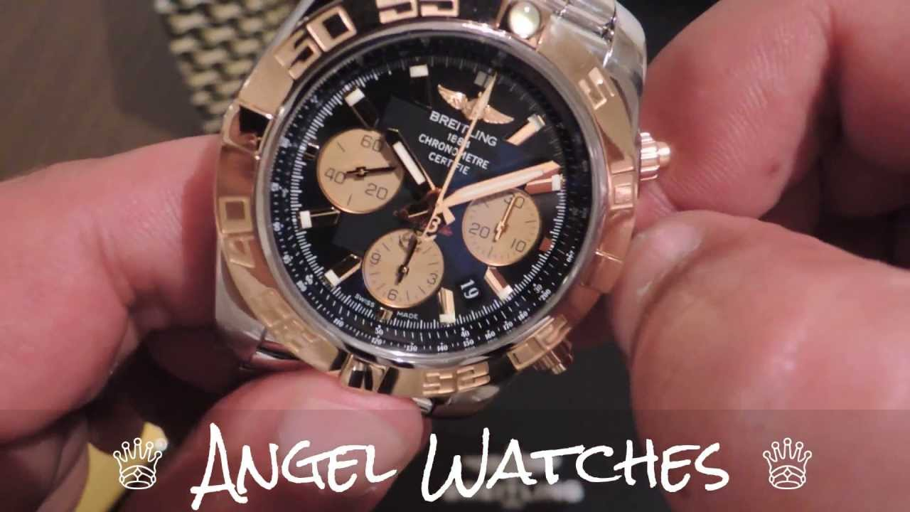 Breitling Chronomat B01 Steel And Gold Youtube