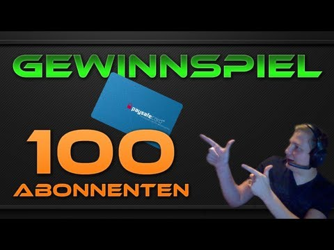 [Gewinnspiel] Wir feiern 100 Abonnenten !!!!!