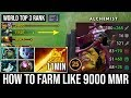 How to Ez Jungle Alchemist in 7.22e | World Top 3 MMR 11Min Radiance Killing Enemy Like Creeps DotA2