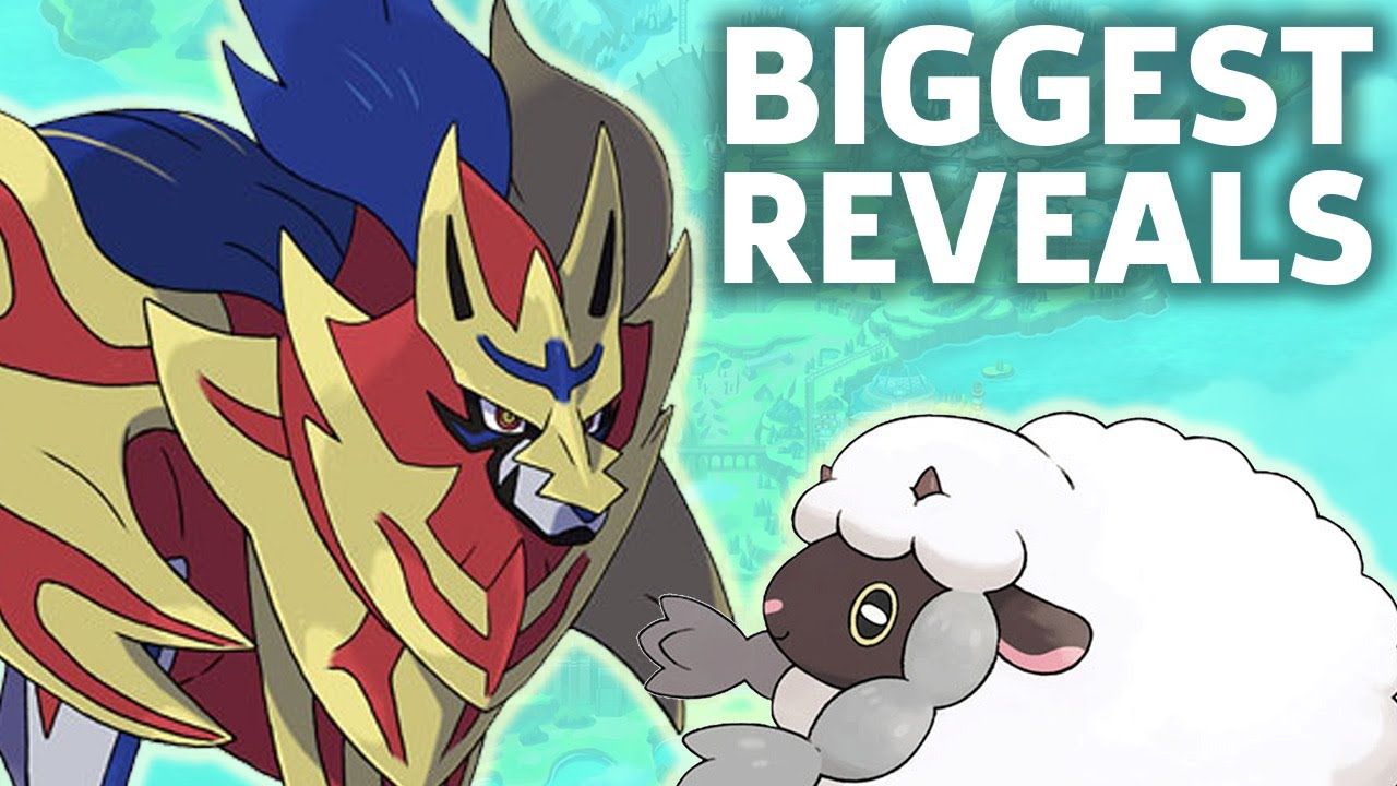 Biggest Reveals From Pokemon Sword Shield Direct Youtube