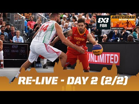 Re-Live - FIBA 3x3 Europe Cup 2017 - Day 2 (2/2) - Amsterdam, Netherlands