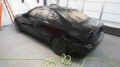 Rustoleum 50 Dollar Honda Civic Paint Job Complete