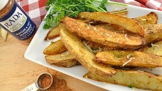 Oven Baked Potato Wedges | Radacutlery.com