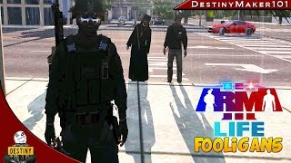 had a bad day a3l fooligans ep 12 arma 3 life funny random moments