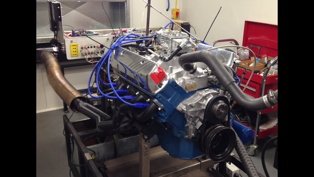 Holden 308 355 Stroker On Engine Dyno 424hp Youtube