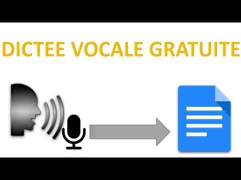 Logiciel Reconnaissance Vocale Gratuit EN LIGNE🎤🖋️