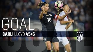 WNT vs. Costa Rica: Carli Lloyd Goal - July 22, 2016