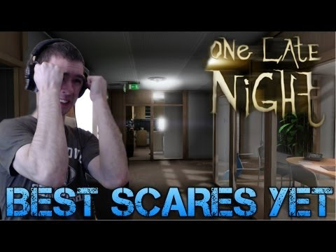 One Late Night  BEST SCARES YET  Indie Horror Game WalkthroughCommentaryFacecam