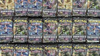 Pokemon Forbidden Light! 1,000 booster pack opening
