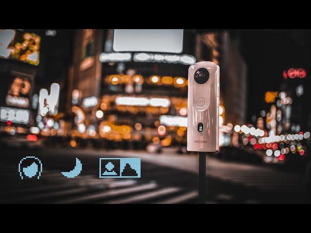 RICOH THETA SC2 プリセットのご紹介 Introducing three preset shooting modes