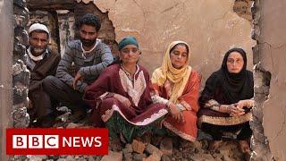 Kashmir: Trail of destruction - BBC News
