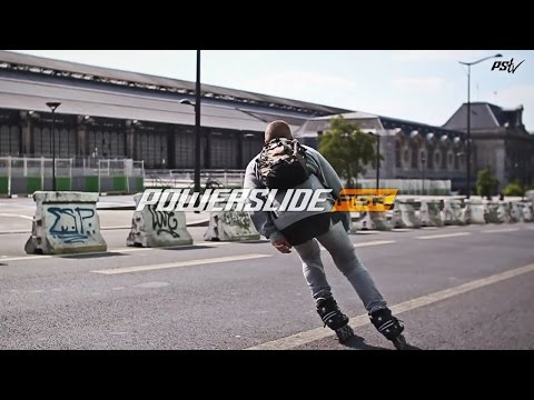 Freeskating in Paris - Powerslide S4 Urban Inline skates