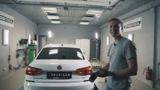 Тюнинг авто купленного на аукционе в США, VW Passat 1 8tsi