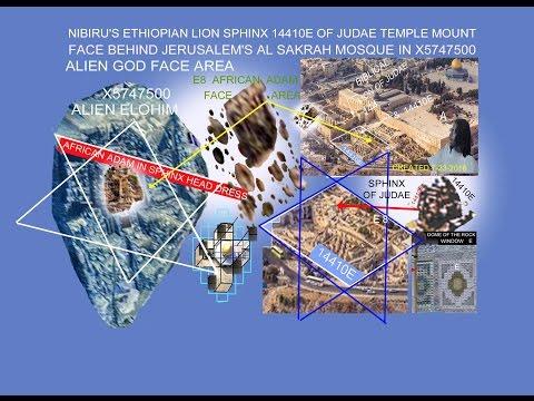 NIBIRU'S ALSAKRAH MOSQUE ALIEN  5  HAS AFRICAN ADAM IN FACE E8 AREA