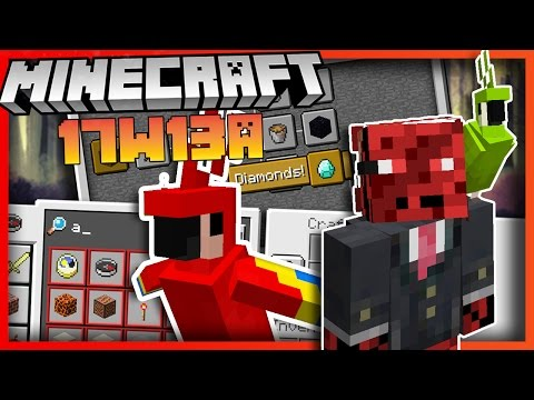 Everything Added in Minecraft Update 17w13a - Parrots, narrator, advancements & more!