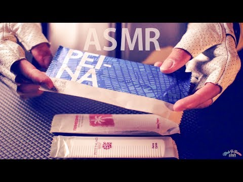 ASMR Crinkly Unwrapping Combs - NO TALKING