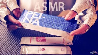 [ASMR] Crinkly Unwrapping Combs - NO TALKING